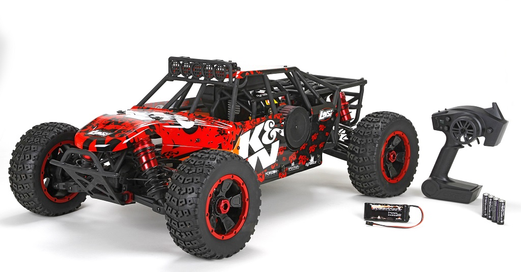 losi desert k n dbxl 1 5 buggy rtr. Black Bedroom Furniture Sets. Home Design Ideas