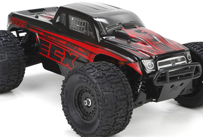 ecx ruckus monster  truck 4wd