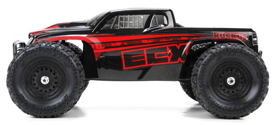 ecx monster truck rc ruckus 4wd rtr. Black Bedroom Furniture Sets. Home Design Ideas
