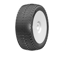 grp pneu 1 8 plus sur jante blanche x2. Black Bedroom Furniture Sets. Home Design Ideas