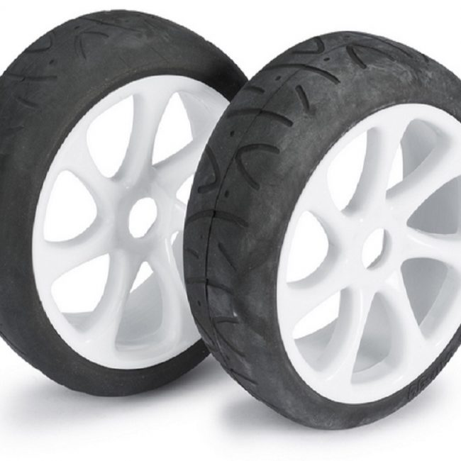 roue asphalte
